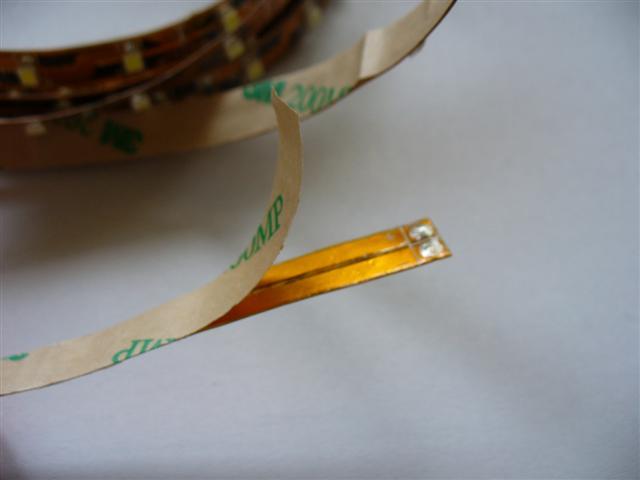 Jak přilepit led pásek - jak nainstalovat led pásek
