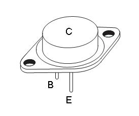 tranzistor - rozmístění vývodů