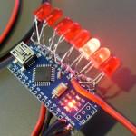 Běžící světlo s LED