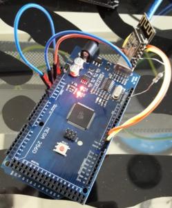 Arduino MEGA jako USB / COM převodník pro ESP8266